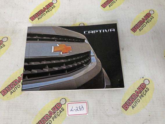 Manual Proprietário Chevrolet Captiva 2012 L283