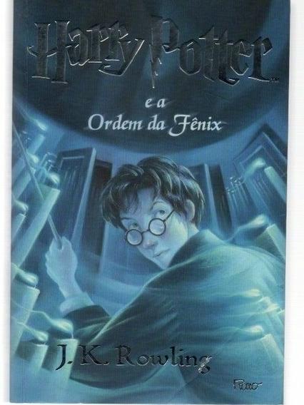 Livro Harry Potter E A Ordem Da Fênix Seminovo Capa Original