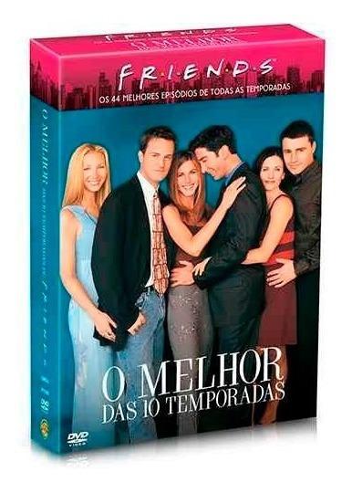 Box Friends O Melhor Das Dez Temporadas Original Lacrado