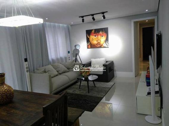 Apartamento Centro - Condomínio Alegria Com 114 M² - Ap0059