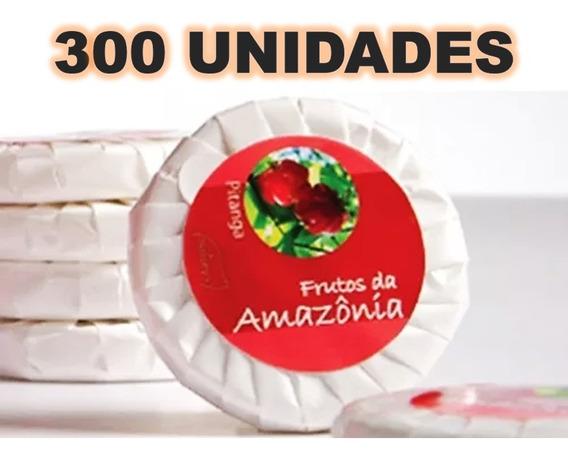 Kit 300 Sabonete 20 Gr Hidratante Luxo Pitanga Hotel Pousada