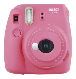 Cámara Instantánea Fujifilm Instax Mini 9 - Rosa Flamingo