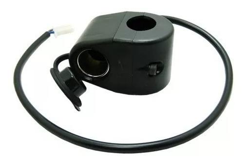 Adaptador Acendedor Tomada 12v Para Guidão Moto Celular Gps
