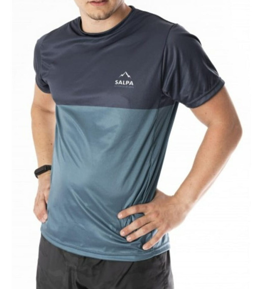 Remera Running Deportiva Gym Salpa Respirable Filtro Uv Dri
