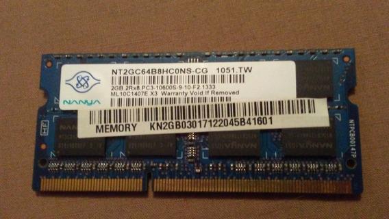 Memoria Ram 2 Gb Ddr3 Lapto