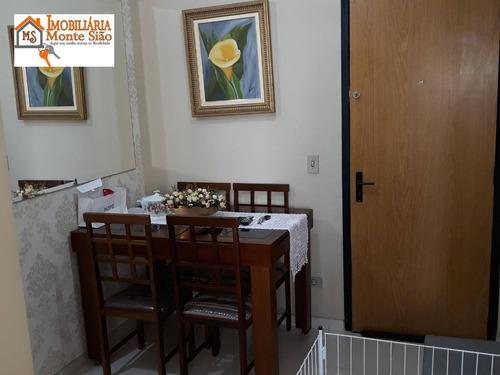 Imagem 1 de 30 de Apartamento À Venda, 74 M² Por R$ 425.000,00 - Vila Rosália - Guarulhos/sp - Ap1625
