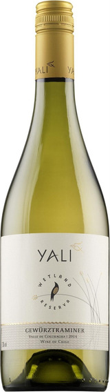 Vino Blanco Yali Wetland Reserva Chardonnay Chile 1 Bot. (f)