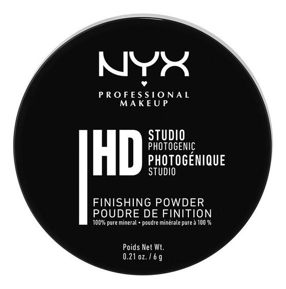 Polvo Fijador Translúcido,nyx Studio Finishing Powder,6g