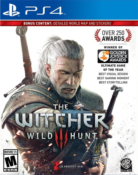 The Witcher 3 Wild Hunt Ps4 100% Português Novo Física