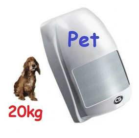 Sensor Pet 20kg Com Fio Alarme Cs Ecp Jfl Intelbras Passivo