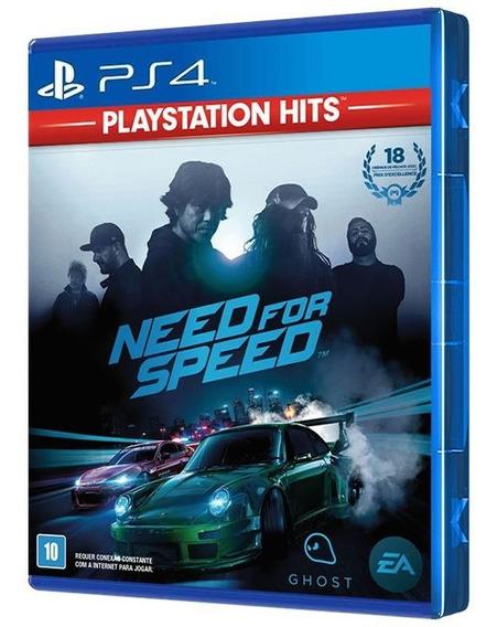 Need For Speed 2015 - Playstation Hits - Ps4 - [ Mídia Física ] - Frete Grátis