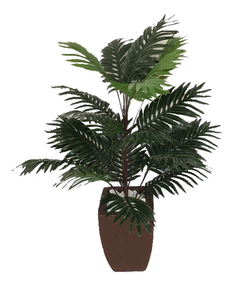 Planta Artificial Bambu Da Sorte Vaso Polietileno