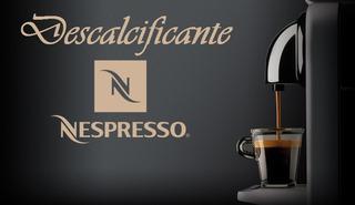 Descalcificante Nespresso Compatível - Limpeza Cafeteira