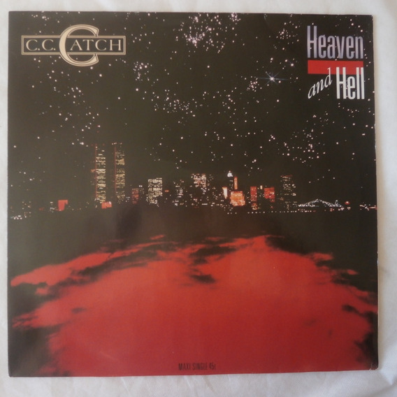 Lp C.c. Catch 1986 Heaven And Hell, Single Importado Espanha
