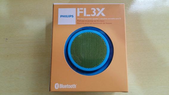 Caixa De Som Bluetooth Philips Bt2000a Azul 2w Rms