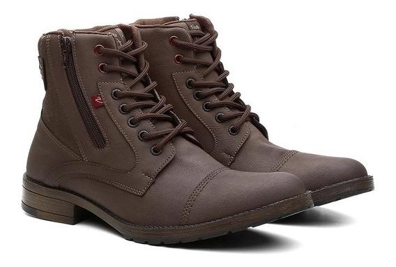 Sapato Botinha Masculina Casual 2 Opcoes De Cores