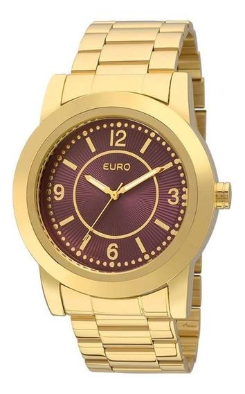 Relógio Euro Feminino Metal Trendy Eu2036yga/4n