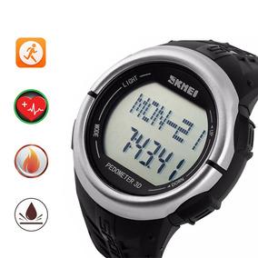 Relógio Skmei Pedômetro Esportivo Ritmo Cardíaco Mergulho