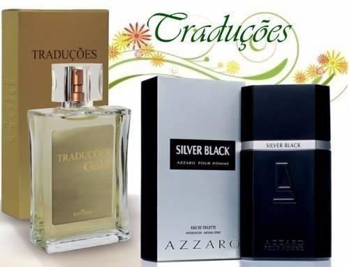 Traduções Gold 47 Azzaro Silver Black