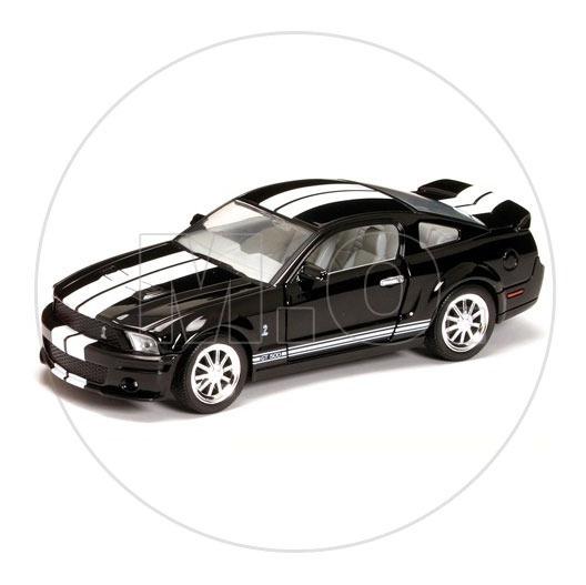 1:24 - Yatming Shelby Gt500 2007 - Preto