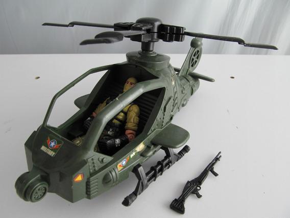 Renegade Gi Joe + Helicóptero Militar