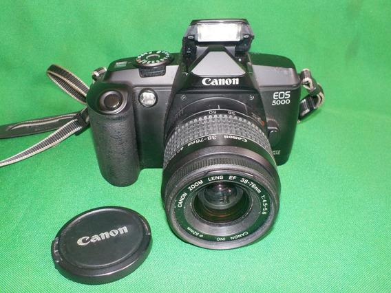 Câmera Máquina Fotográfica Canon Eos 5000