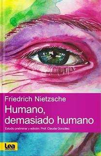 Humano Demasiado Humano - Friedrich Nietzsche - Libro Envio