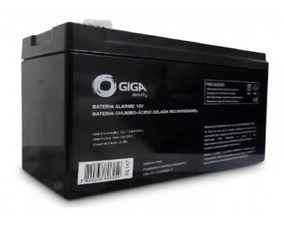 Bateria Selada 12 Volts 7a Para Alarme - Giga