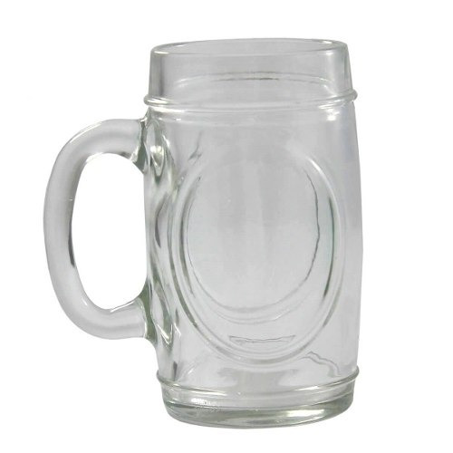 Kit Caneca Chopp Cerveja 300ml Fritz 12un Wheaton Copo