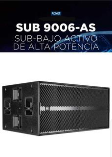 Sub Rcf 9006as Activo Dsp Nuevo