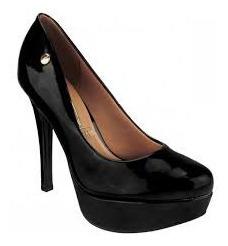 Sapato Vizzano Verniz Preto