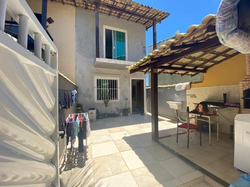 Casa Duplex Com 02 Suítes Na Quadra Da Praia Em Barra De S.j