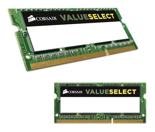 Imagen 1 de 1 de Memoria Para Laptops Corsair 4gb Ddr3l Sodimm 1600mhz