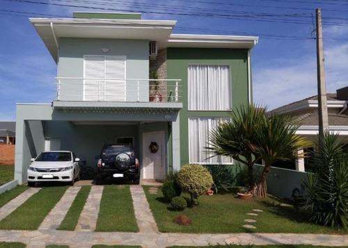 Casa Residencial À Venda, Condomínio Terras Do Fontanário, Paulínia. - Ca1940
