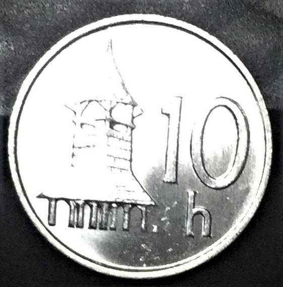 Moneda - Eslovaquia - 1993 - 10 Halierov -s/c- Km 17 Tesoros