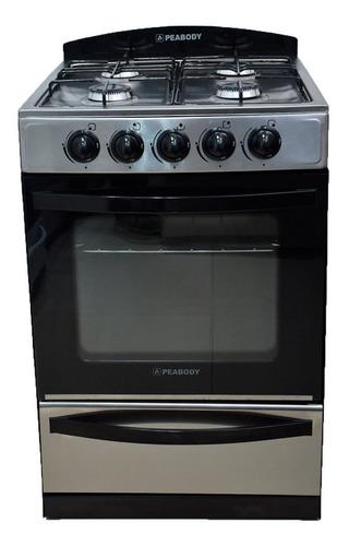 Cocina Peabody Multigas 56cm Acero Inoxidable