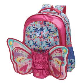 Mochila Costas G Baby Alive Butterfly - Grande - Facific