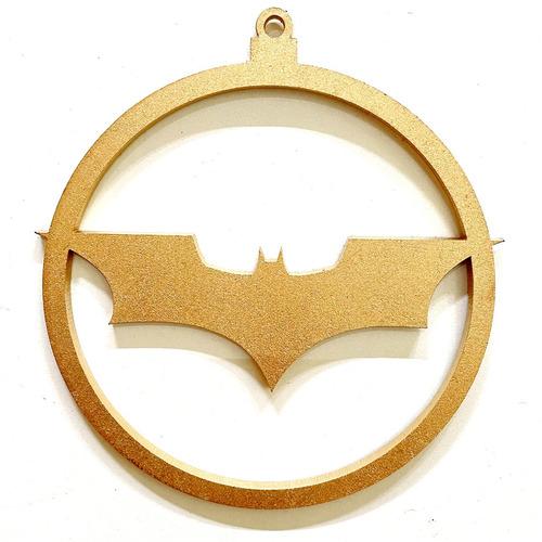 Imagen 1 de 3 de 12 Esferas Navideñas Temática Batman