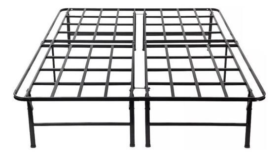 Base Sommier Metalica En Caja Reforzada 140x190 Sleep Box