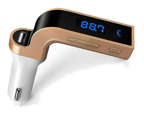 Bluetooth Sintonizador Fm Mp3 Auto Manos Libres Carc 2