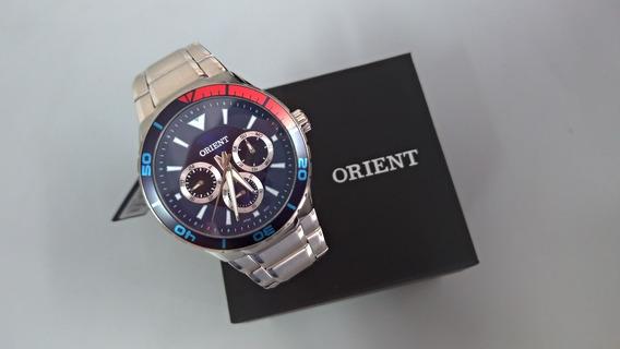 Relógio Masculino Orient Em Aço