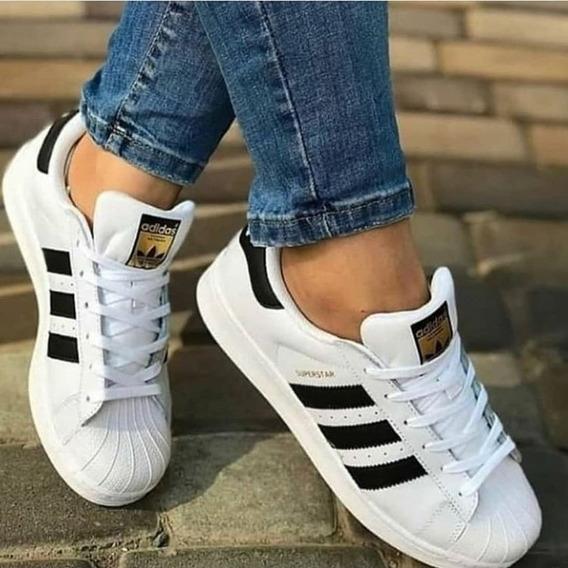 Oferta Tênis adidas Superstar Branco Com Frete Gratis