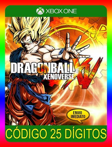 Imagem 1 de 5 de Dragon Ball Xenoverse Xbox One - 25 Dígitos (envio Já)