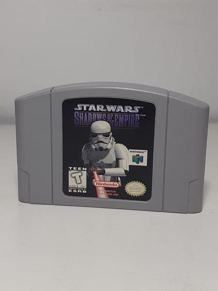 Star Wars Shadows Of The Empire Nintendo 64 Original Usa -01