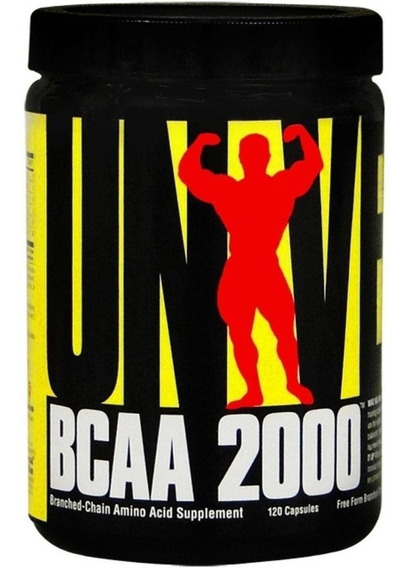 Bcaa 2000 Universal Nutrition X 120 Capsulas
