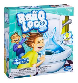 Juego De Mesa Baño Loco Hasbro C04475730 Con Agua Y Sonido