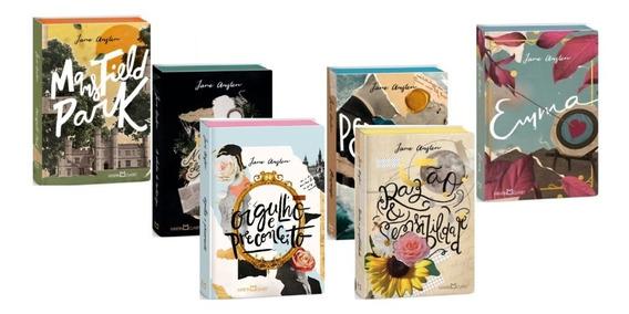 Mansfild Park Orgulho E Preconceito Jane Austen (6 Livros)