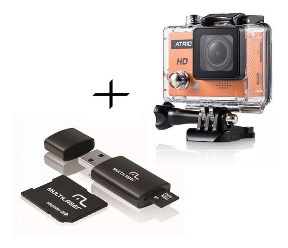 Câmera Atrio Cam Hd 720p 5mp + Cartão 16gb Classe 10 Dc186