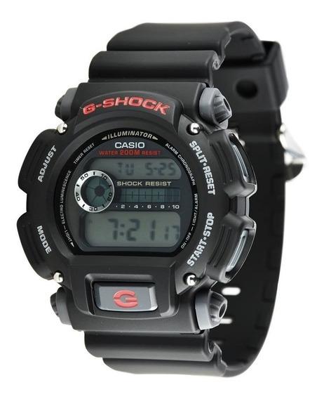 Relogio Casio G-shock Dw9052 1vdr - Frete Gratis