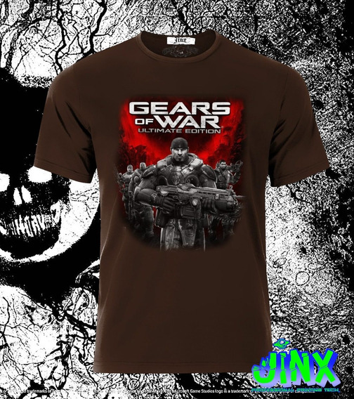 Playera O Camiseta Gears Of Wars Juego Gamer Ultimate Edition Clasico
